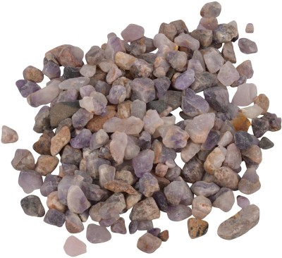 Decor Pebbles SP0FM41 Polished Asymmetrical Marble Pebbles(Purple 2 kg)
