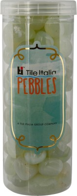Tile Italia Pebbles Onyx Lemon Yellow Pebbles Polished Round Onyx Pebbles