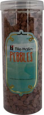 Tile Italia Pebbles Rust Unpolished Chips Polished Angular Slate Stone