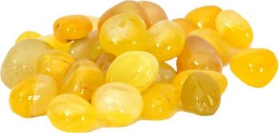 Chave PBL-ONX-YLW-1K Polished Asymmetrical Onyx Pebbles(Yellow 1 kg)