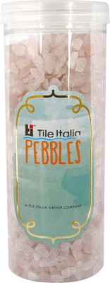Tile Italia Pebbles Rose Quartz Polished Chips Polished Angular Quartz Stone
