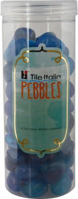 Tile Italia Pebbles Onyx Blue Pebbles Polished Round Onyx Pebbles