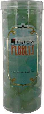 Tile Italia Pebbles Onyx Aqua Pebbles Polished Round Onyx Pebbles
