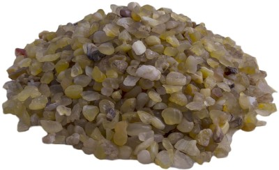 UGAOO Yellow Chips- 1 Kg Polished Angular Onyx Stone