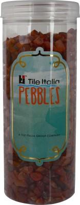 Tile Italia Pebbles Carnallion Polished Chips Polished Angular Quartz Stone