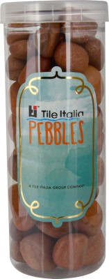 Tile Italia Pebbles Pink Pebbles Polished Round Granite Pebbles