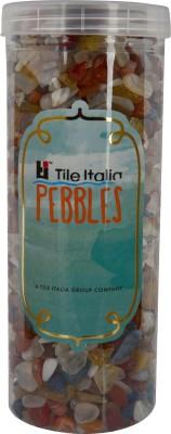Tile Italia Pebbles Mixed Onyx Polished Chips Polished Angular Onyx Stone