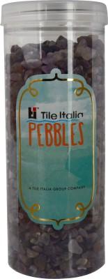 Tile Italia Pebbles Amethist Polished Chips Polished Angular Quartz Stone