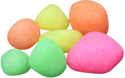 AsianHobbyCrafts ASNHC1105_D_FBA Regular Asymmetrical Marble Pebbles(Multicolor 8 Pieces)
