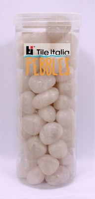 Tile Italia Pebbles Rose Quartz Pebbles Polished Round Quartz Pebbles