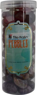 Tile Italia Pebbles Onyx Garnet & Amethyst Pebbles Polished Round Onyx Pebbles