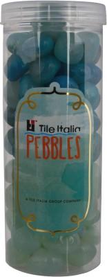 Tile Italia Pebbles Onyx Sea Green & Onyx Aqua Pebbles Polished Round Onyx Pebbles