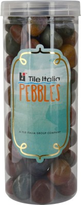 Tile Italia Pebbles Fancy Pebble Pebbles Polished Round Granite Pebbles