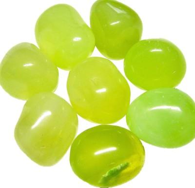 Shilpacharya Handicrafts SH4048 Polished Asymmetrical Onyx Pebbles(Green 1 kg)