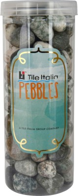 Tile Italia Pebbles Zebra Pebbles Polished Round Granite Pebbles
