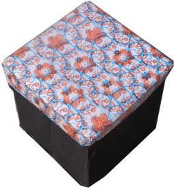 Yellow Weaves Living & Bedroom Stool(Multicolor)