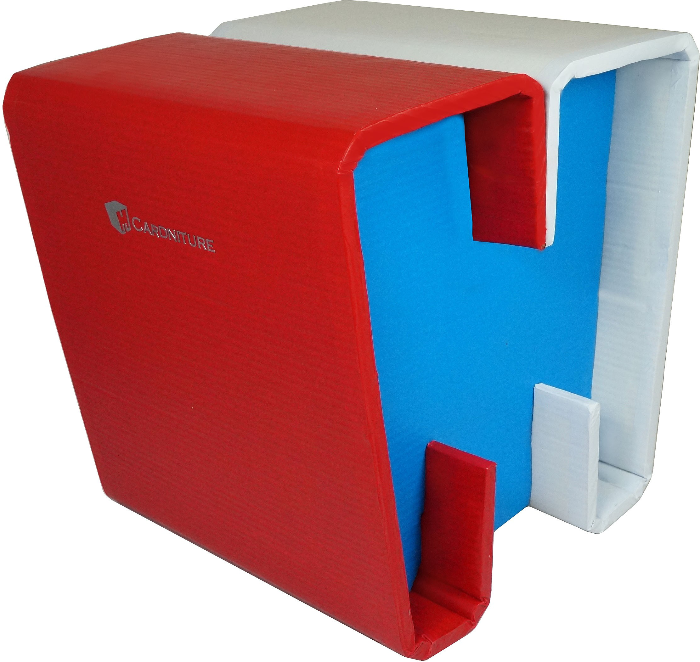 View Cardniture ZING Living & Bedroom Stool(Red, Blue, White) Furniture (Cardniture)