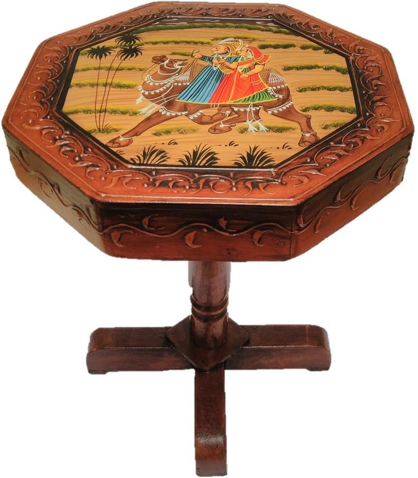 View JaipurCrafts Royal Rajasthan Haritage Outdoor & Cafeteria Stool(Multicolor) Furniture (JaipurCrafts)