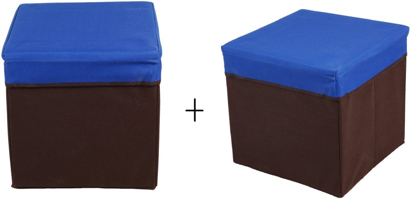 SG set of 2 Outdoor & Cafeteria Stool(Blue)
