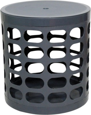 Casa Basic Sit & Store Stool (Grey) Outdoor & Cafeteria Stool