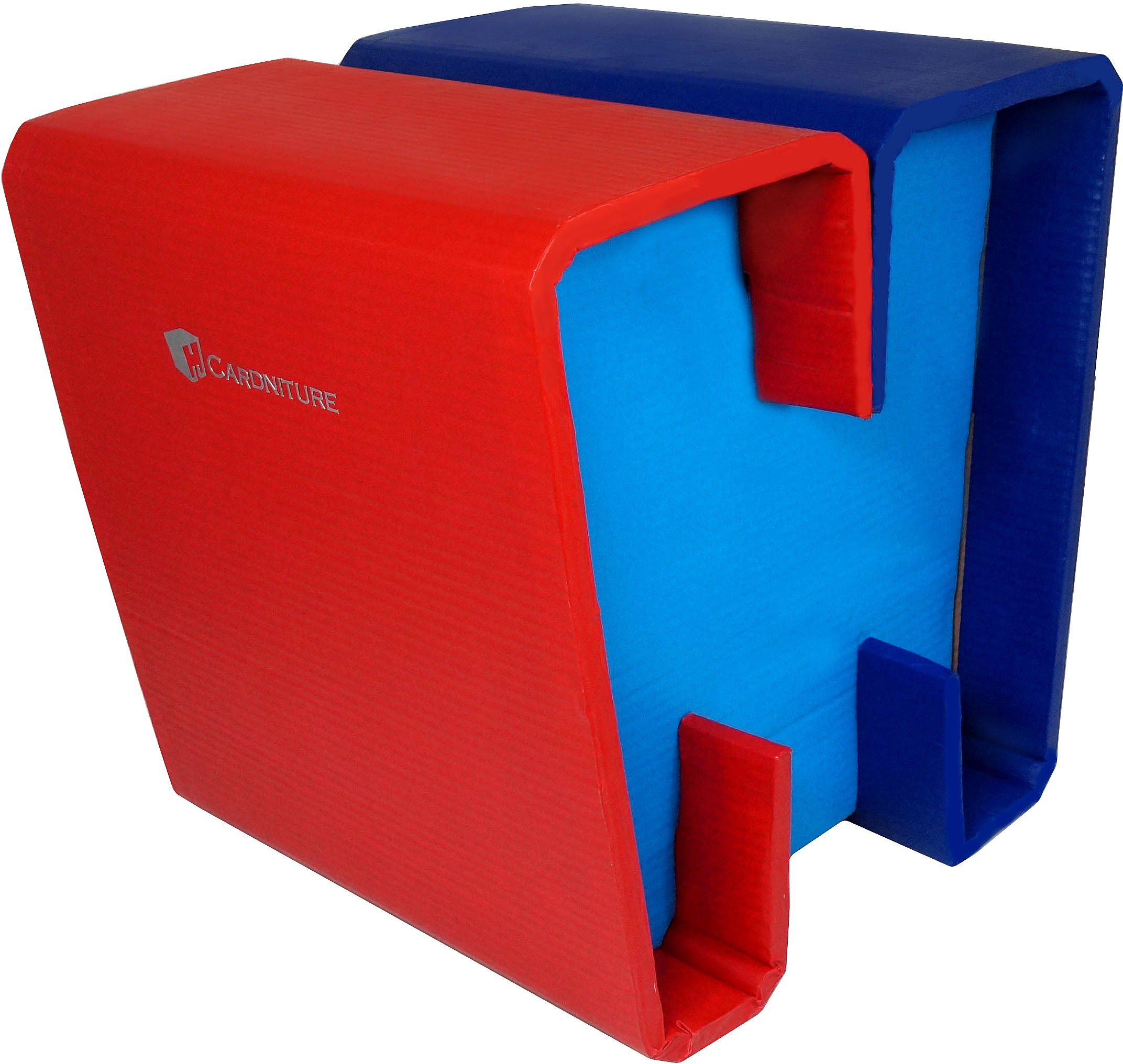 View Cardniture ZING Living & Bedroom Stool(Red, Blue) Furniture (Cardniture)