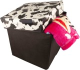 Birdy Stool (White, Black)