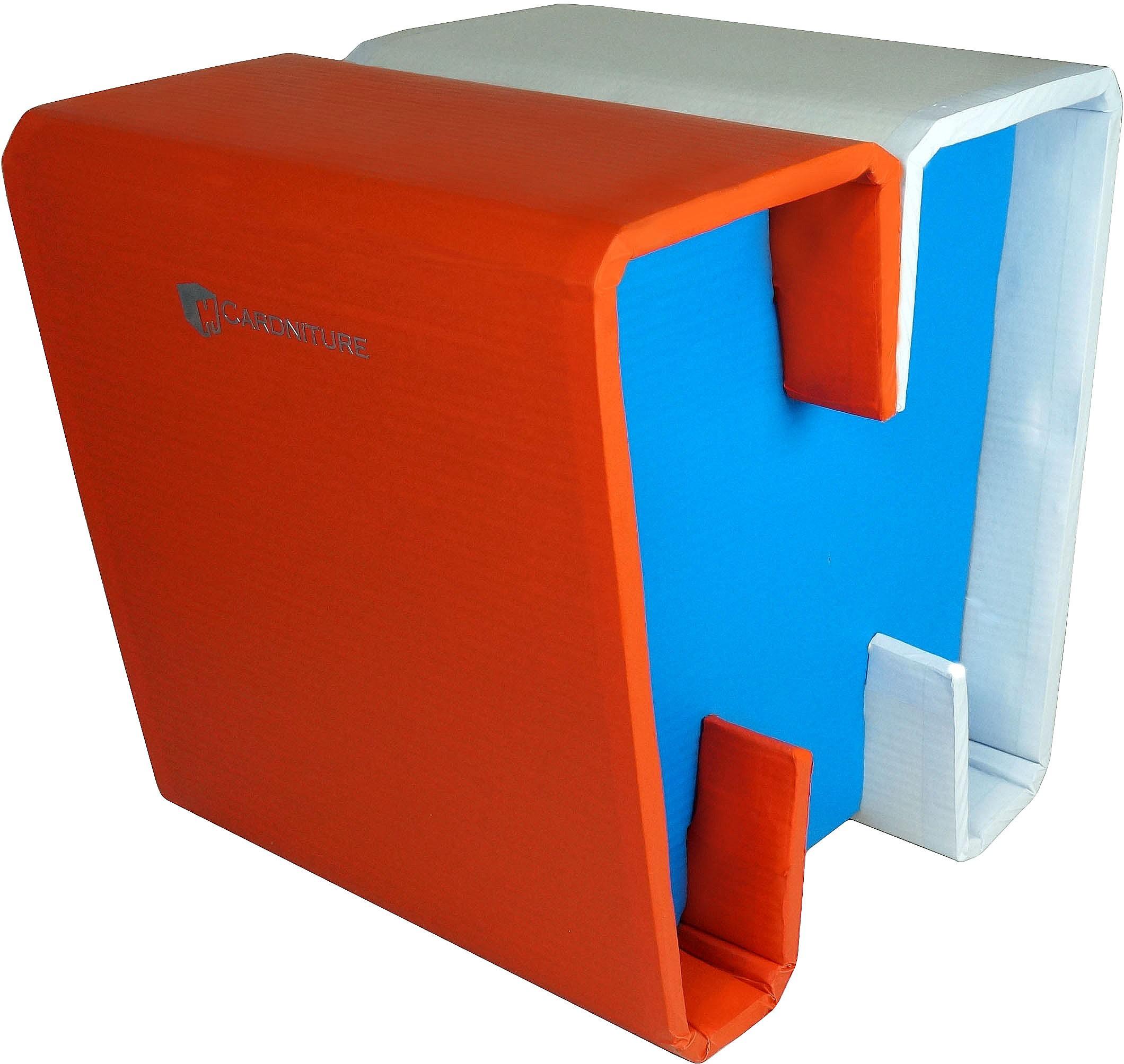 View Cardniture ZING Living & Bedroom Stool(Orange, Blue, White) Furniture (Cardniture)