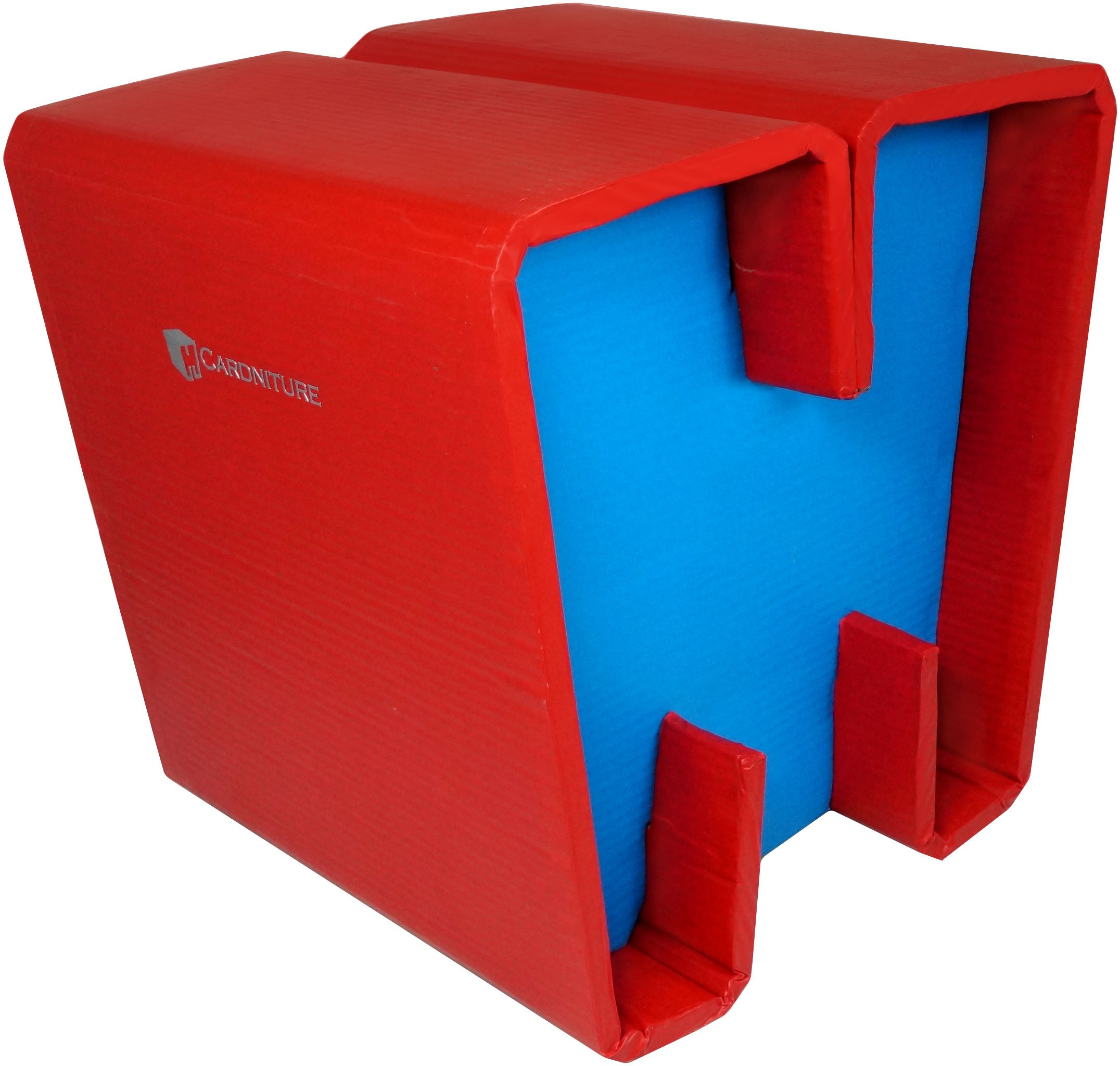 View Cardniture ZING Living & Bedroom Stool(Blue, Red) Furniture (Cardniture)