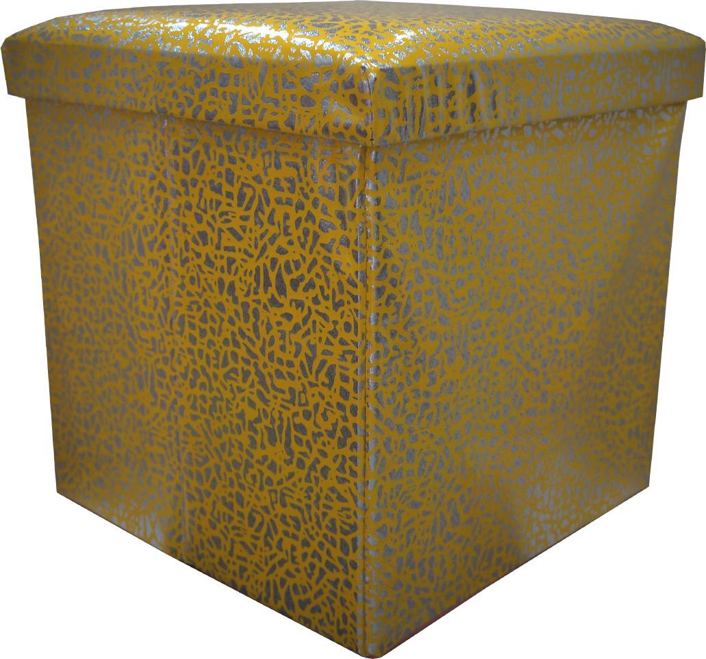 View Muren Living & Bedroom Stool(Yellow) Furniture (Muren)