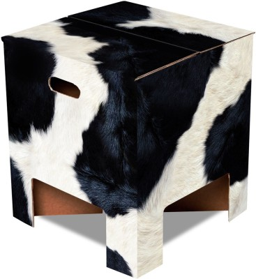 Dutch Design Brand Cow Living & Bedroom Stool(Multicolor)