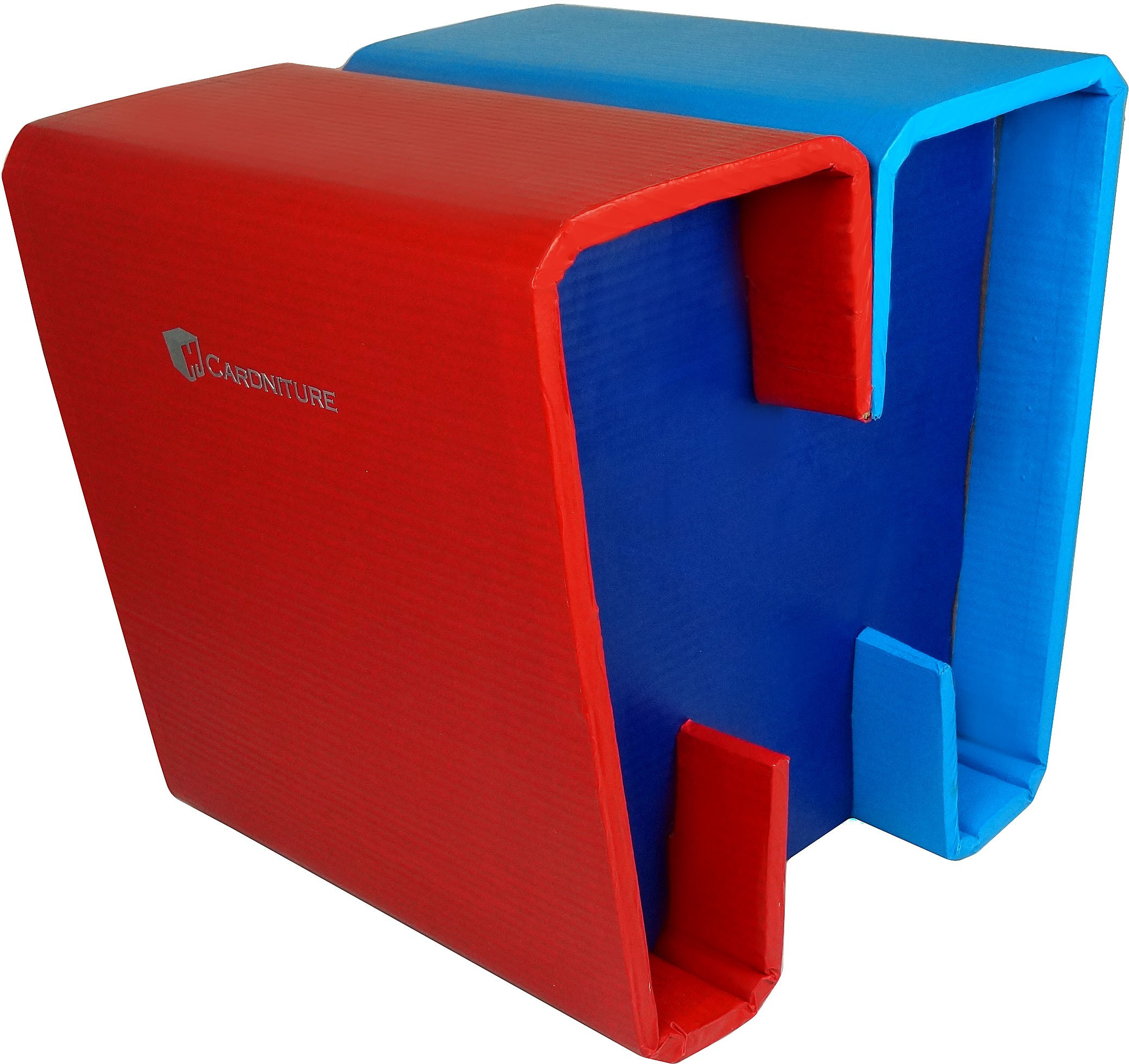 View Cardniture ZING Living & Bedroom Stool(Red, Blue, Orange) Furniture (Cardniture)
