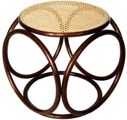View Amour Cane designer stool Living & Bedroom Stool(Brown) Furniture (Amour)
