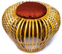 Amour Living & Bedroom Stool(Gold)