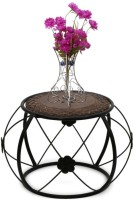 Onlineshoppee CAC Solid Wood Coffee Table(Finish Color - brown)