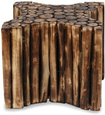 Onlineshoppee Solid Wood Bar Stool