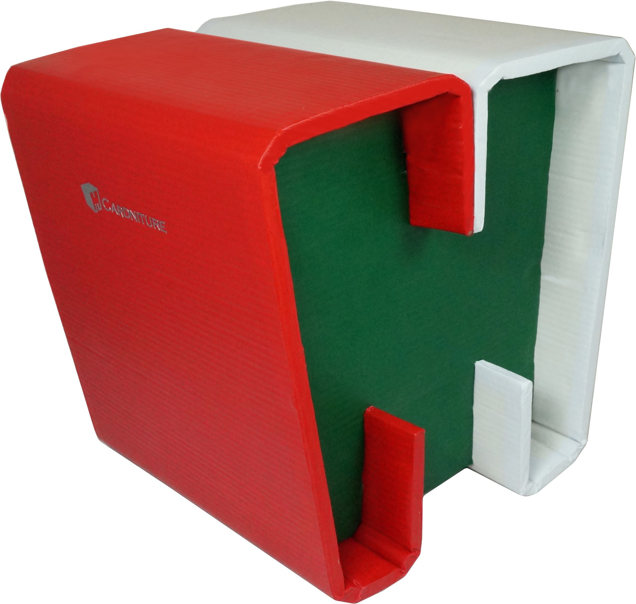 View Cardniture ZING Living & Bedroom Stool(Red, Green, White) Furniture (Cardniture)