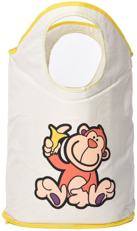 Baby Bucket Foldable Fiery Lion Laundry Bag cum for Kids Storage Basket(Pack of 1)