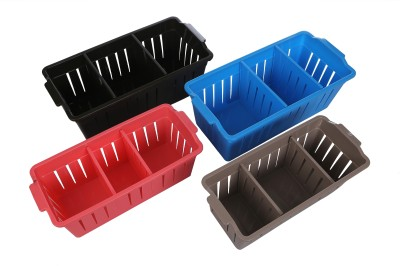 CSM Set of 4 Multipurpose Storage Basket- Medium/Big Storage Basket
