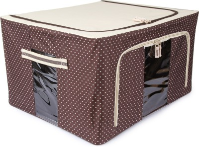 Uberlyfe Foldable Jumbo Saree Cover with Steel Frames 55L