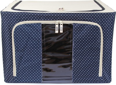 Uberlyfe Foldable Jumbo Saree Cover with Steel Frames 66L