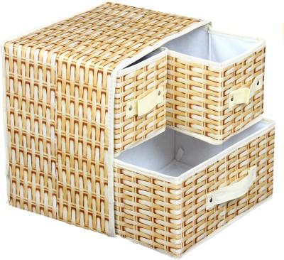 Houzfull 3 Compartment Storage Box