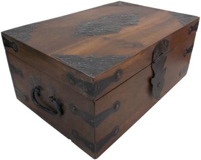 Indune Rustic Metal Art Trimmings Storage Box