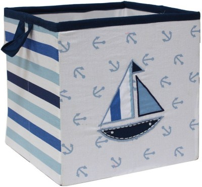Bacati Little Sailor Small Storage Box