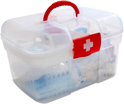 Vmore 2 Layer First Aid Medicine Storage Box