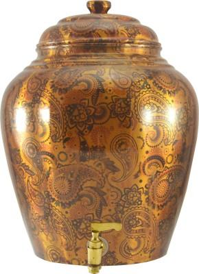 ankur shopping cart Royal Rajasthani Texture Matka Pot RTMP 15 L Drum