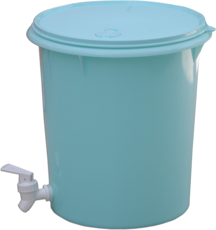 Tupperware 1122DISPENSER 8.7 L Drum(Green, Pack of 1)