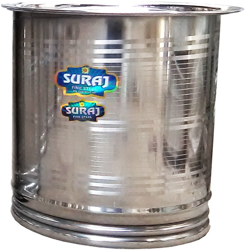 Suraj 008 35 L Drum(Steel, Pack of 1)