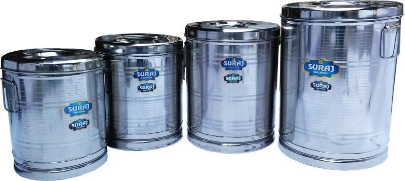 Suraj 9 105 L Drum(Steel, Pack of 4)