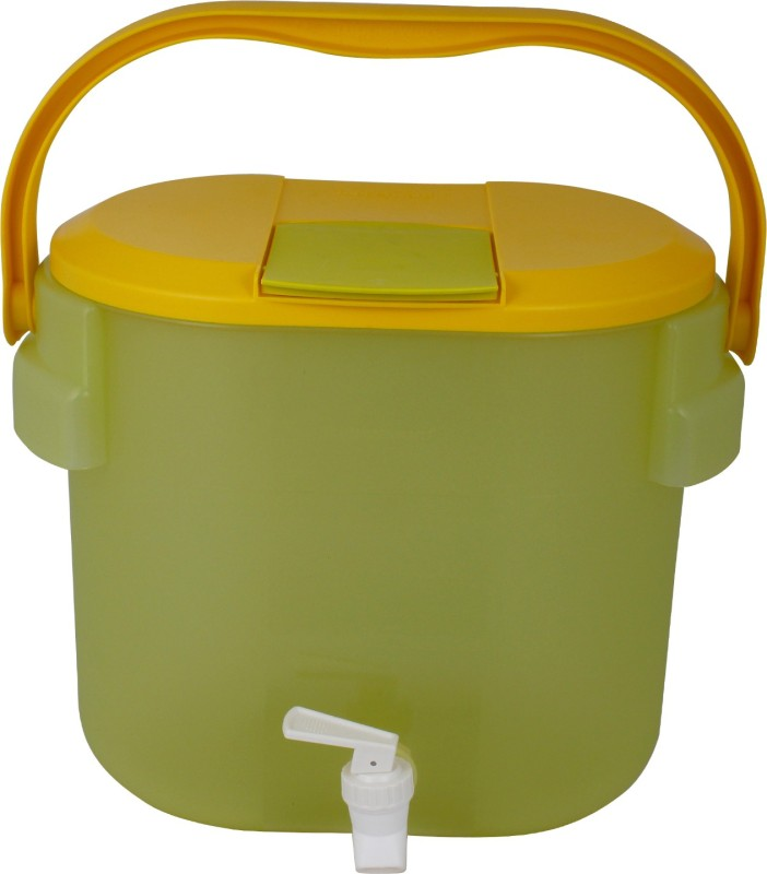 Tupperware Tup2043 2043 8.7 L Drum(Yellow, Pack of 1)