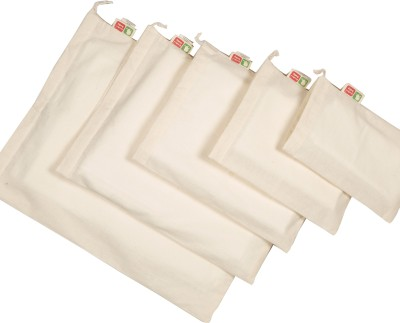 Brother Baby Cotton Storage Pouch(Pack of 5)